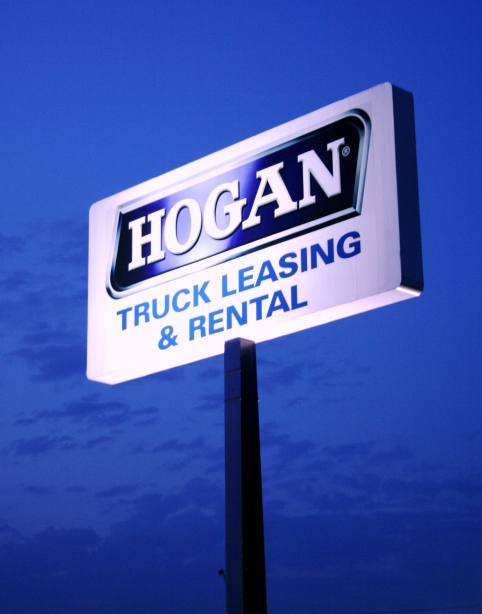 Hogan Truck Leasing Sign INDY copy